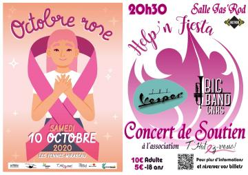 The Vesper en Concert pour Octobre Rose